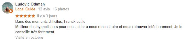 Avis Google de Ludovic O.